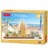 CUBICFUN 3D pusle Barcelona