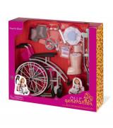 OUR GENERATION Meditsiini komplekt ratastooliga