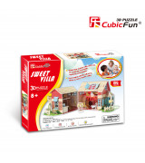 CUBICFUN 3D pusle Sweet Villa Maja