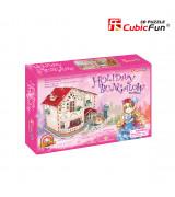 CUBICFUN 3D pusle Holiday Bungalow Nukumaja