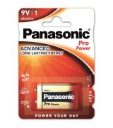 """Panasonic patarei """"""""9V"""""""" 1tk pakis"""