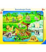RAVENSBURGER pusle suur lapik Loomaaed