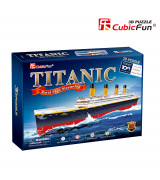 CUBICFUN 3D pusle Titanic (Suur)