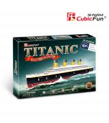 CUBICFUN 3D pusle Titanic (Väike)
