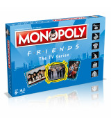 WINNING MOVES Monopoly Friends lauamäng (inglise keeles)