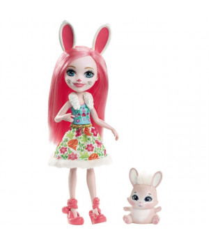 MATTEL ENCHANTIMALS Nukk (Bree Bunny)