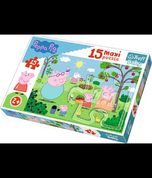 TREFL MAXI Pusle 15 Peppa Pig