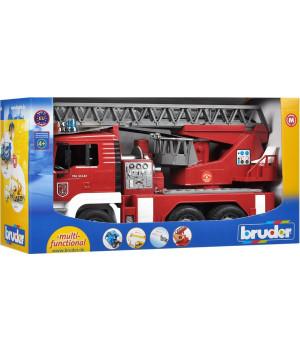 BRUDER MAN TGA Tuletõrjeauto heli ja valgusega
