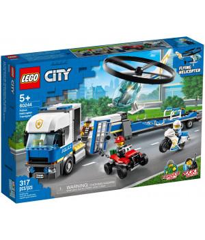 LEGO CITY Politseikopteri transport 60244