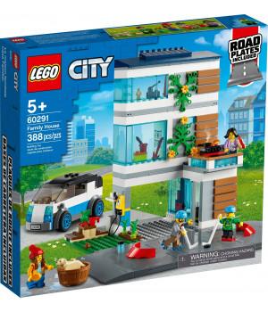 LEGO CITY Moodne peremaja 60291