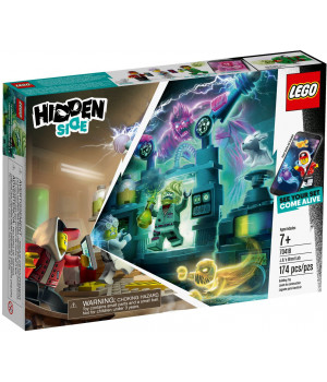 LEGO HIDDEN SIDE J.B. kummituslabor 70418