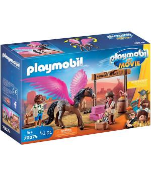 PLAYMOBIL THE MOVIE Marla ja Del lendava hobusega