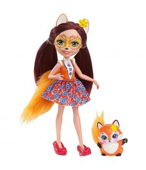 MATTEL ENCHANTIMALS Nukk (Felicity Fox)