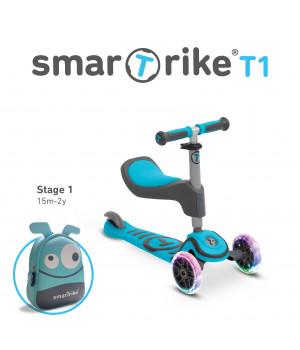SMARTRIKE T1 Tõukeratas (Sinine)
