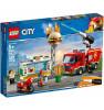 LEGO CITY Burgerikohviku tulekahju 60214