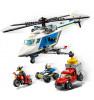 LEGO CITY Tagaajamine politseikopteril 60243