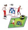 MESSI TRAINING SYSTEM 2in1 Jalgpallivärav võrguga