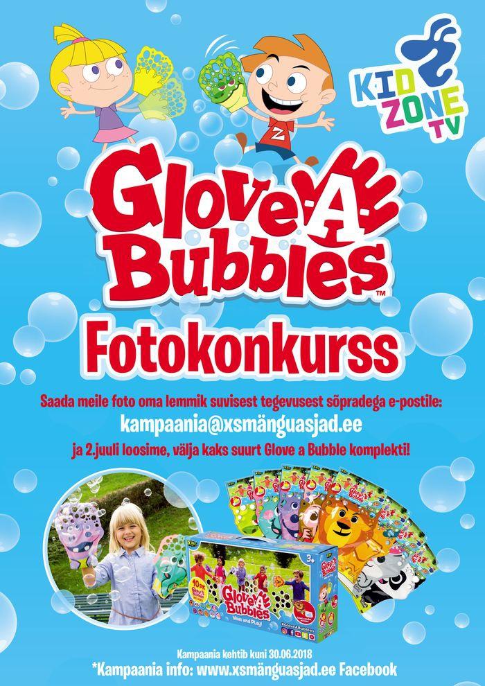 Glove Bubbles Kidzone