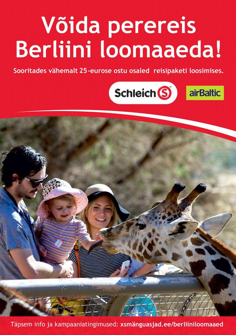 Võida reis Berliini loomaaeda