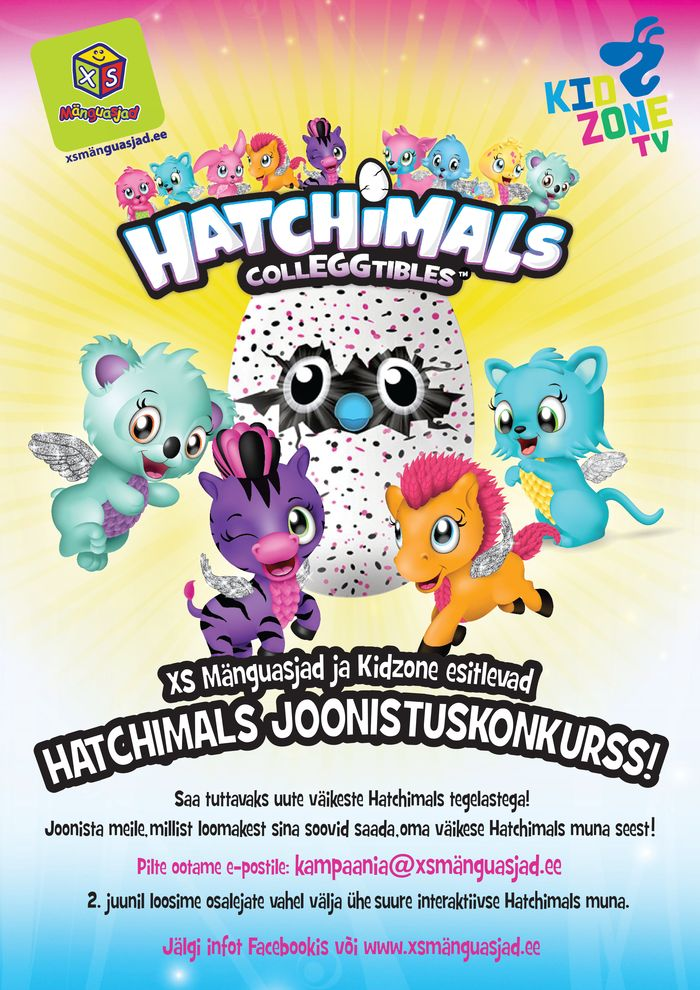Kidzone Hatchimals
