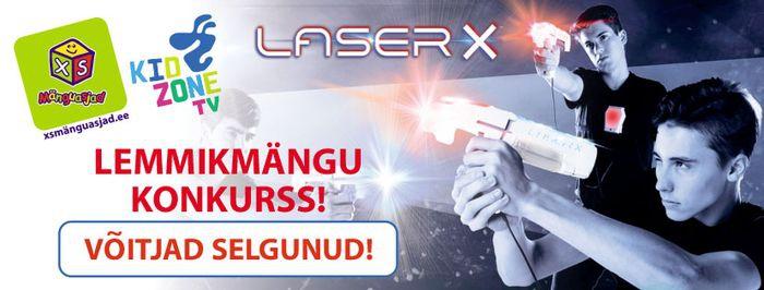 Laser X konkurssi võitjad