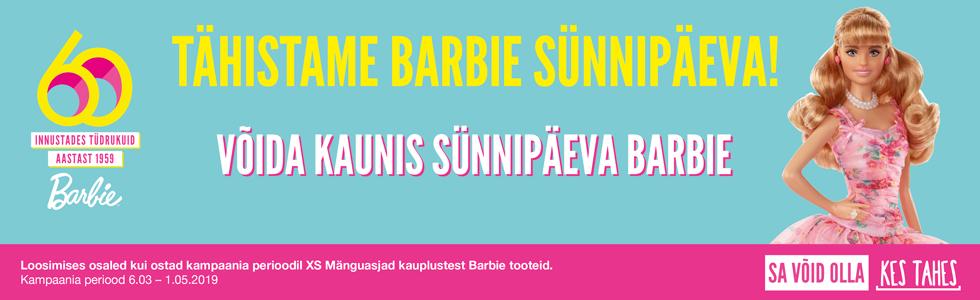 Barbie sünnipäeva kampaania