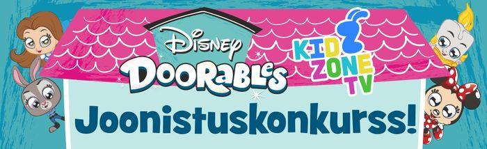Kidzone TV Disney Doorable joonistuskonkurss